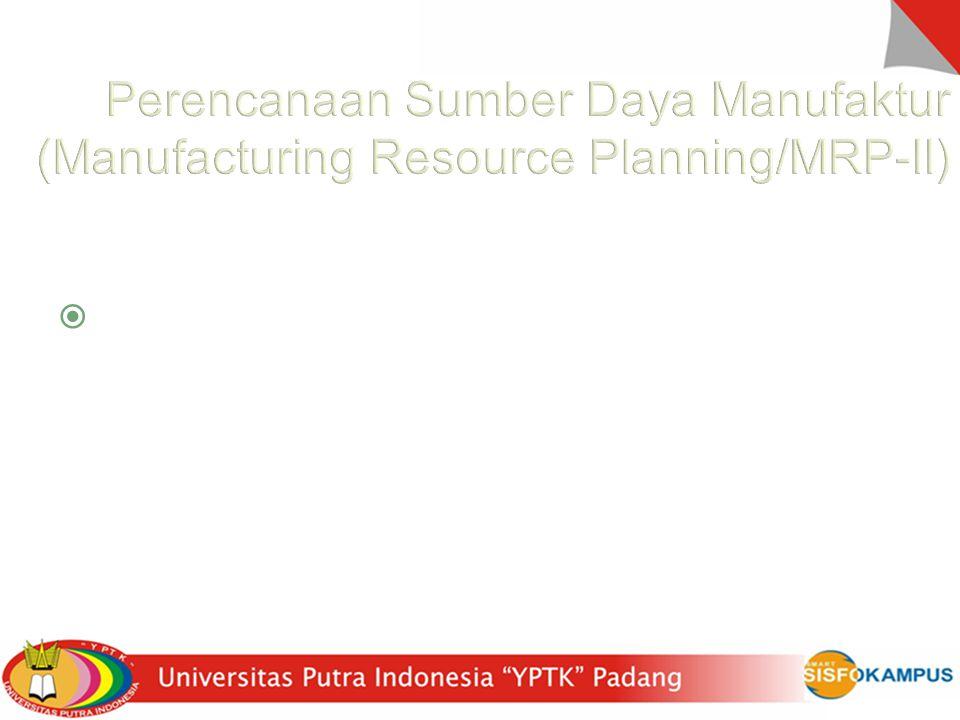 Perencanaan Sumber Daya Manufaktur (Manufacturing Resource Planning/MRP-II)