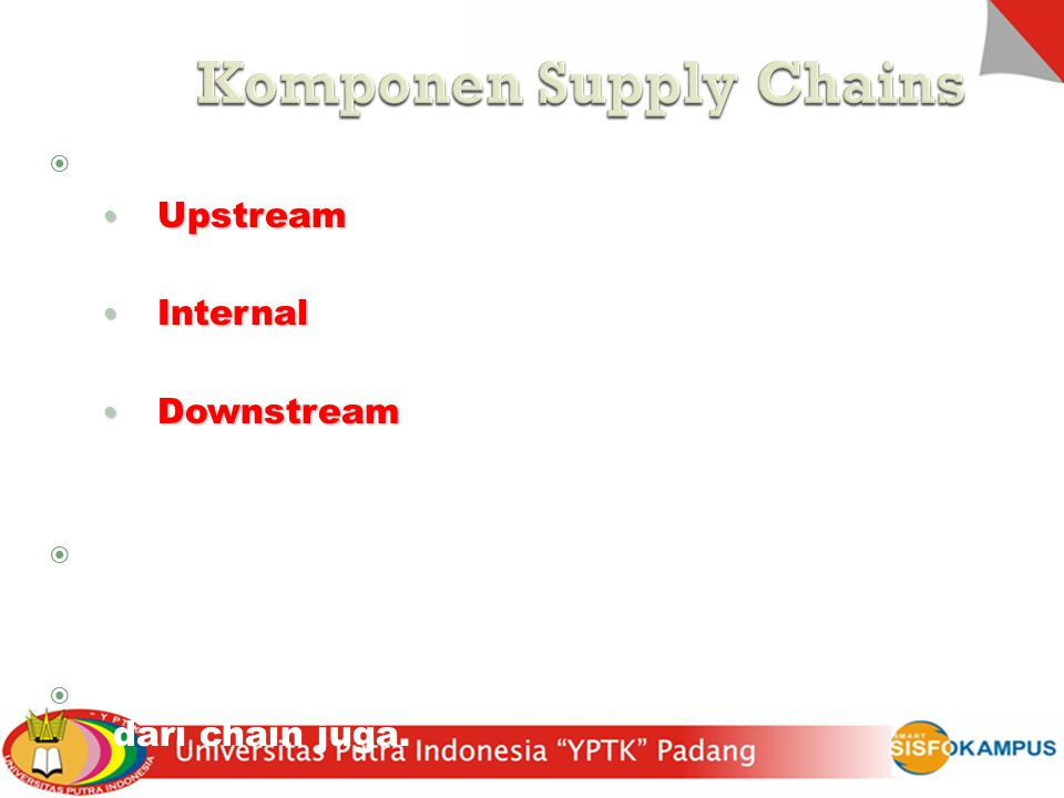 Komponen Supply Chains