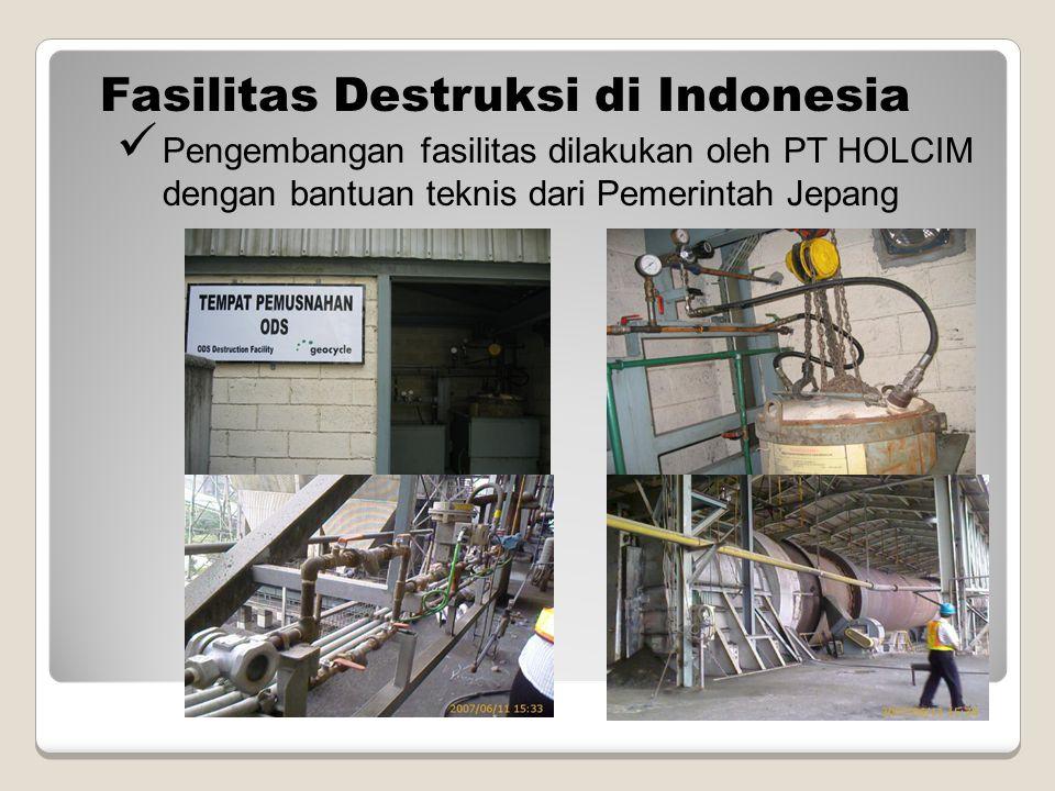 Fasilitas Destruksi di Indonesia