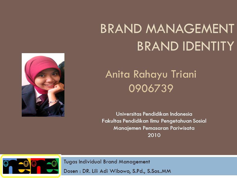 brand Management Brand IdentitY