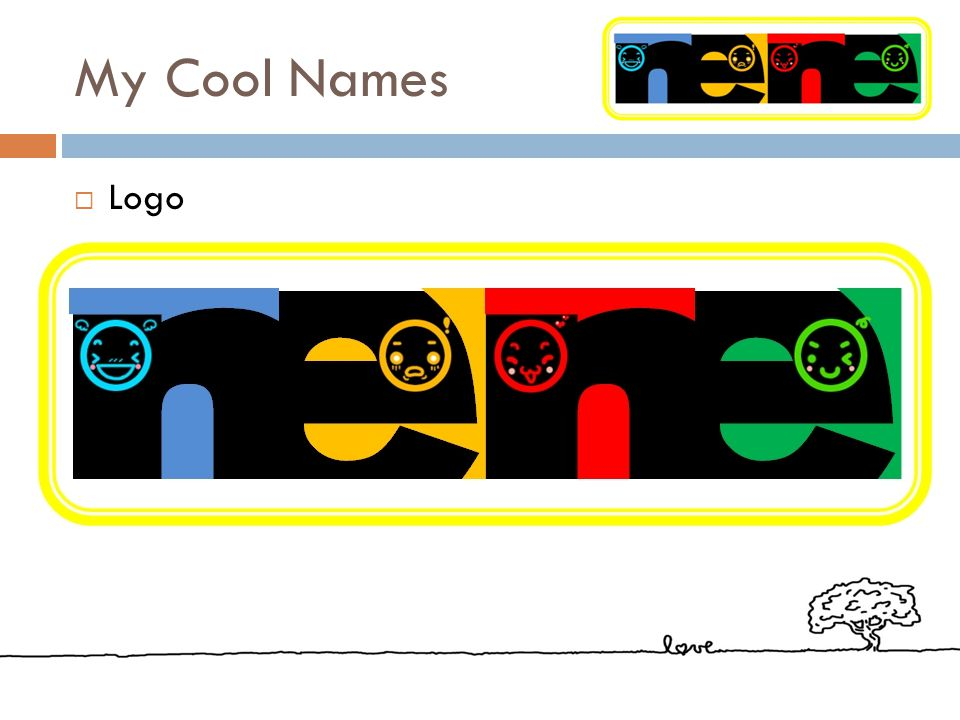 My Cool Names Logo