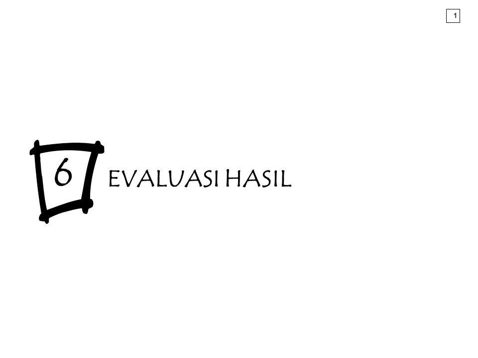 6 EVALUASI HASIL