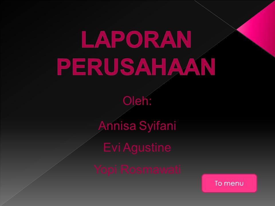 Annisa Syifani Evi Agustine Yopi Rosmawati