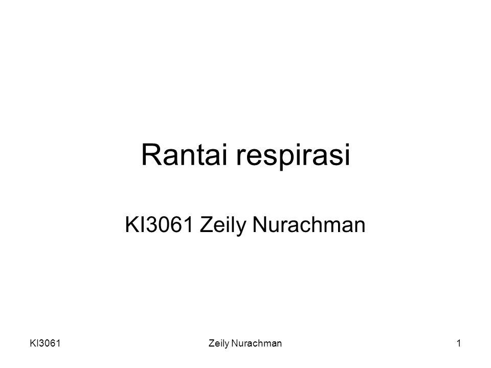 Rantai respirasi KI3061 Zeily Nurachman KI3061 Zeily Nurachman