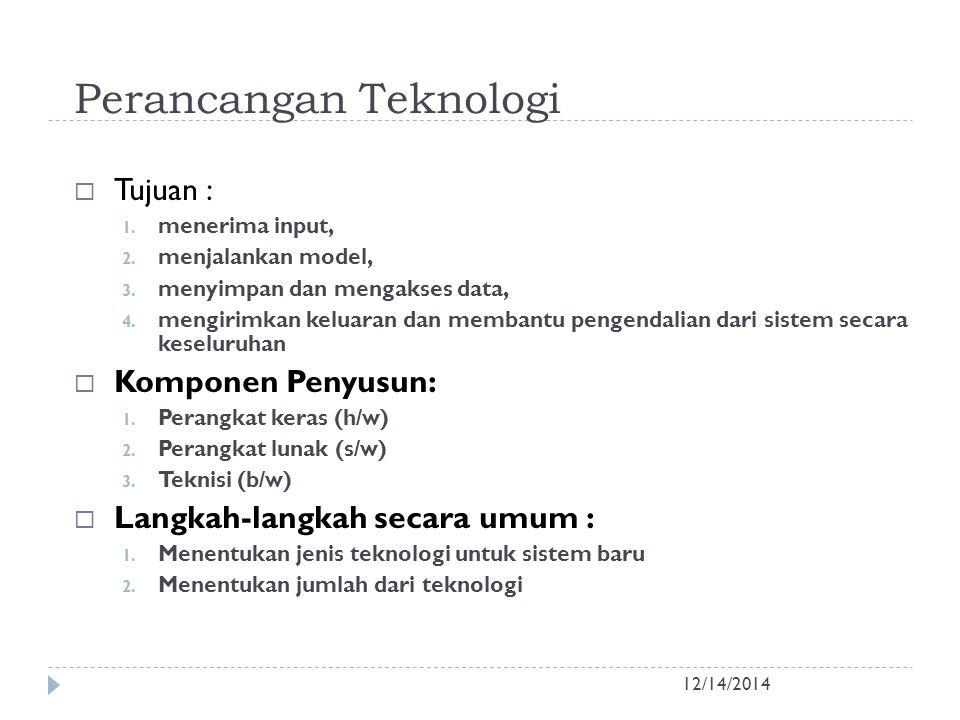 Perancangan Teknologi