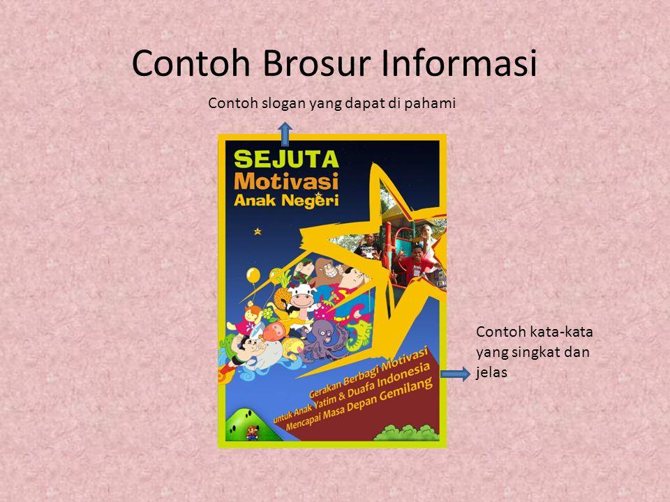 Contoh Brosur Informasi