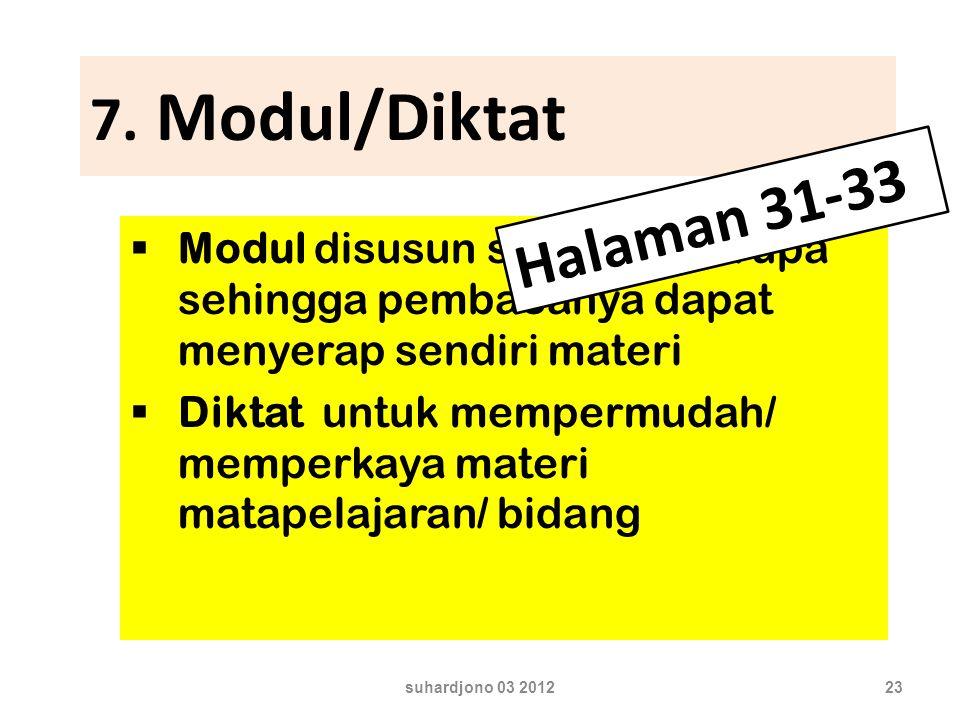 7. Modul/Diktat Halaman 31-33