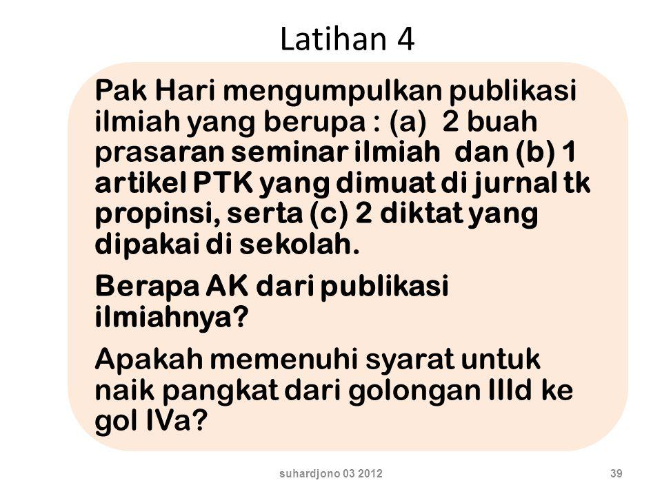 Latihan 4