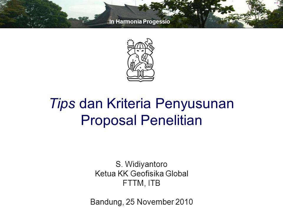 Tips dan Kriteria Penyusunan Proposal Penelitian