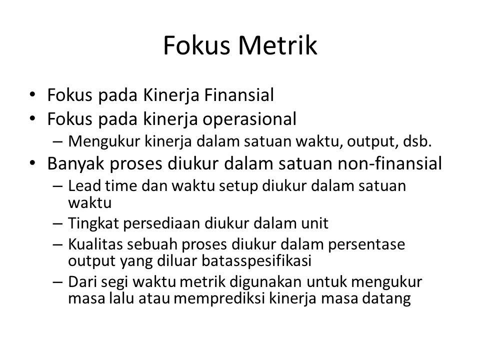 Fokus Metrik Fokus pada Kinerja Finansial