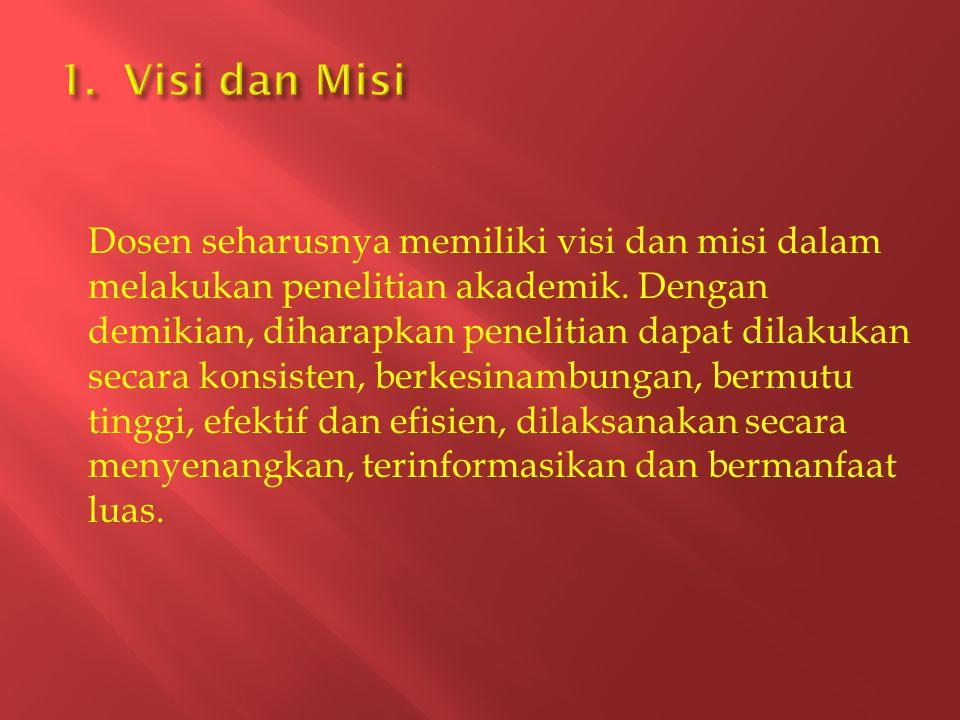 1. Visi dan Misi