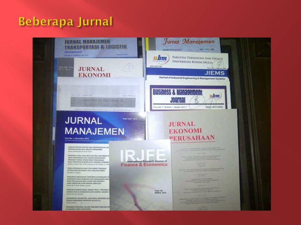 Beberapa Jurnal
