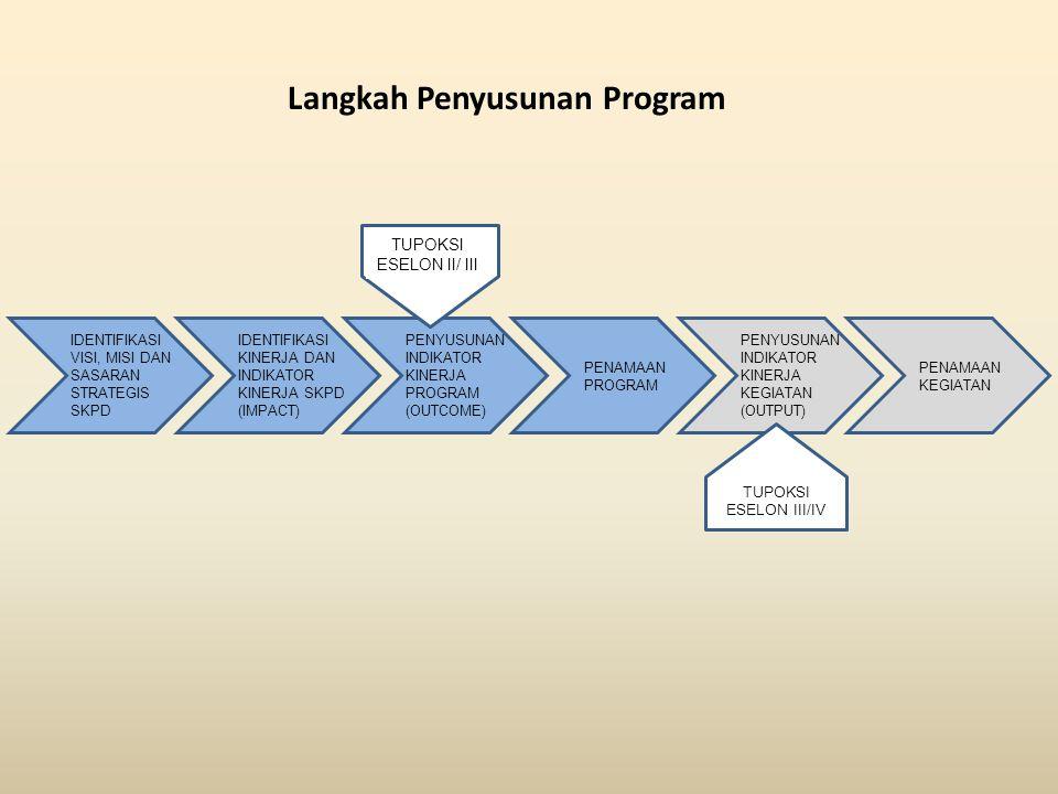 Langkah Penyusunan Program