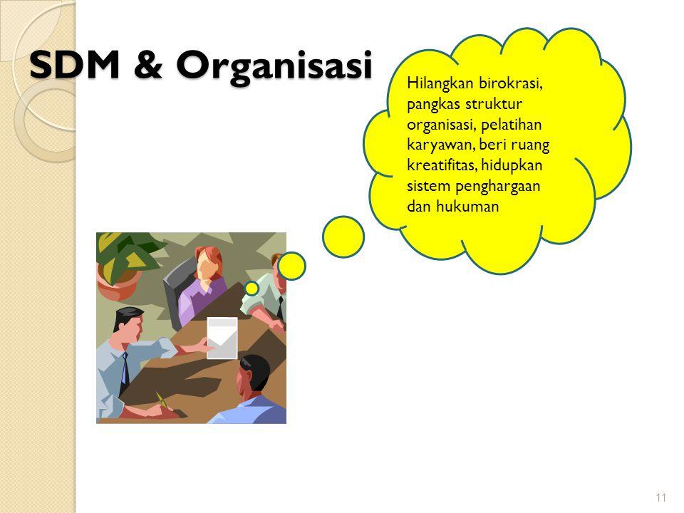 SDM & Organisasi