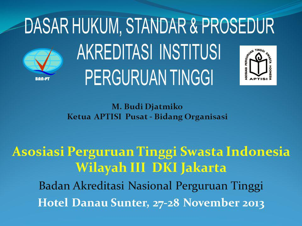 Asosiasi Perguruan Tinggi Swasta Indonesia Wilayah III DKI Jakarta
