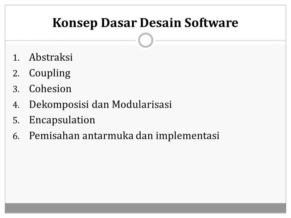 Konsep Dasar Desain Software