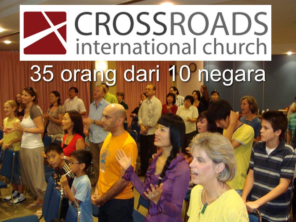 Our People 35 orang dari 10 negara