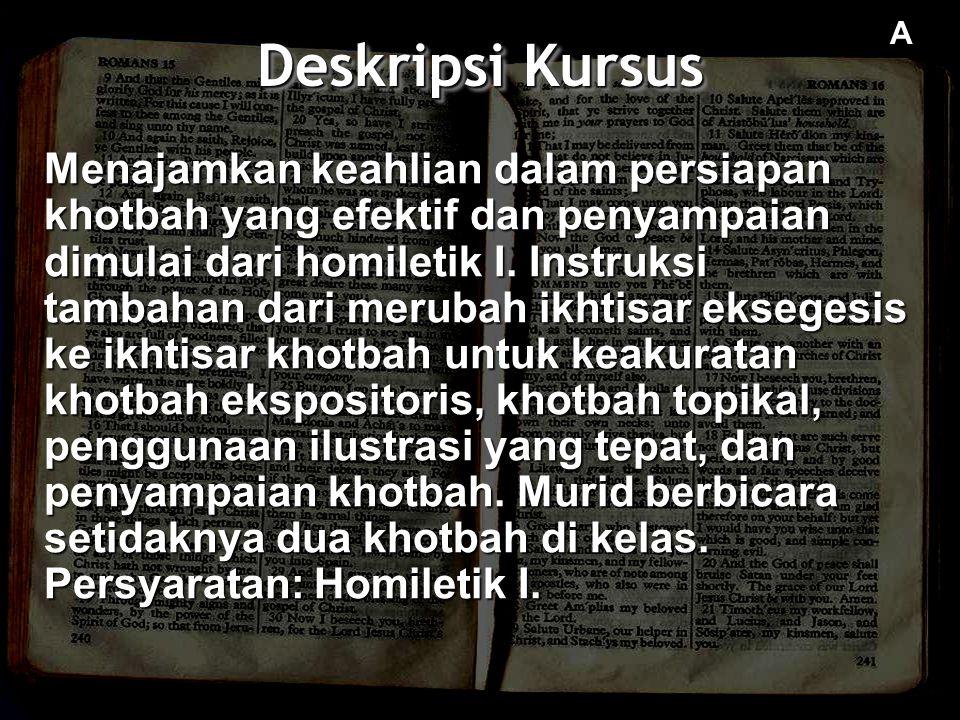 Deskripsi Kursus A.