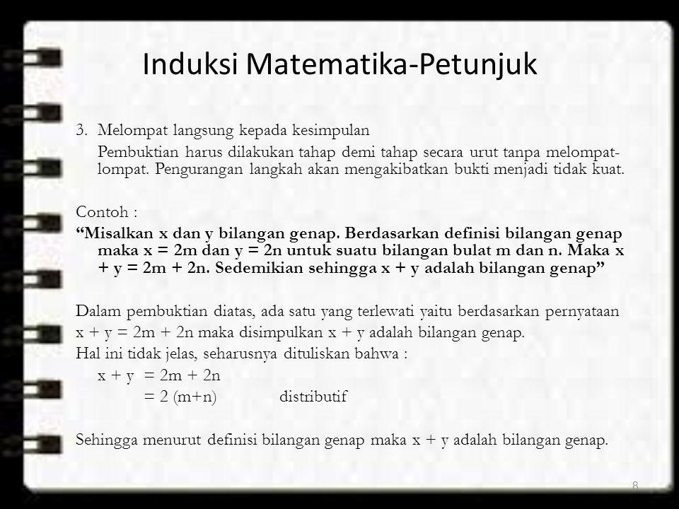 Induksi Matematika-Petunjuk