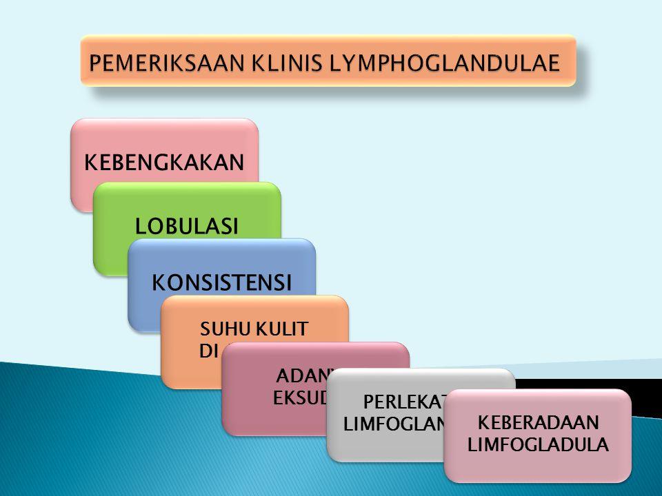 PEMERIKSAAN KLINIS LYMPHOGLANDULAE