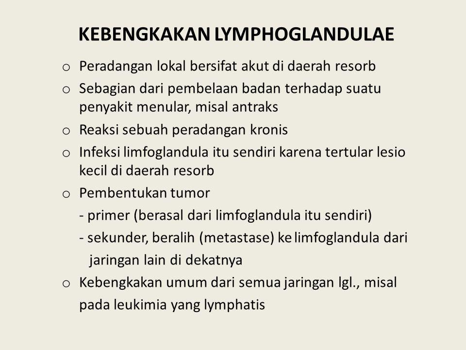KEBENGKAKAN LYMPHOGLANDULAE