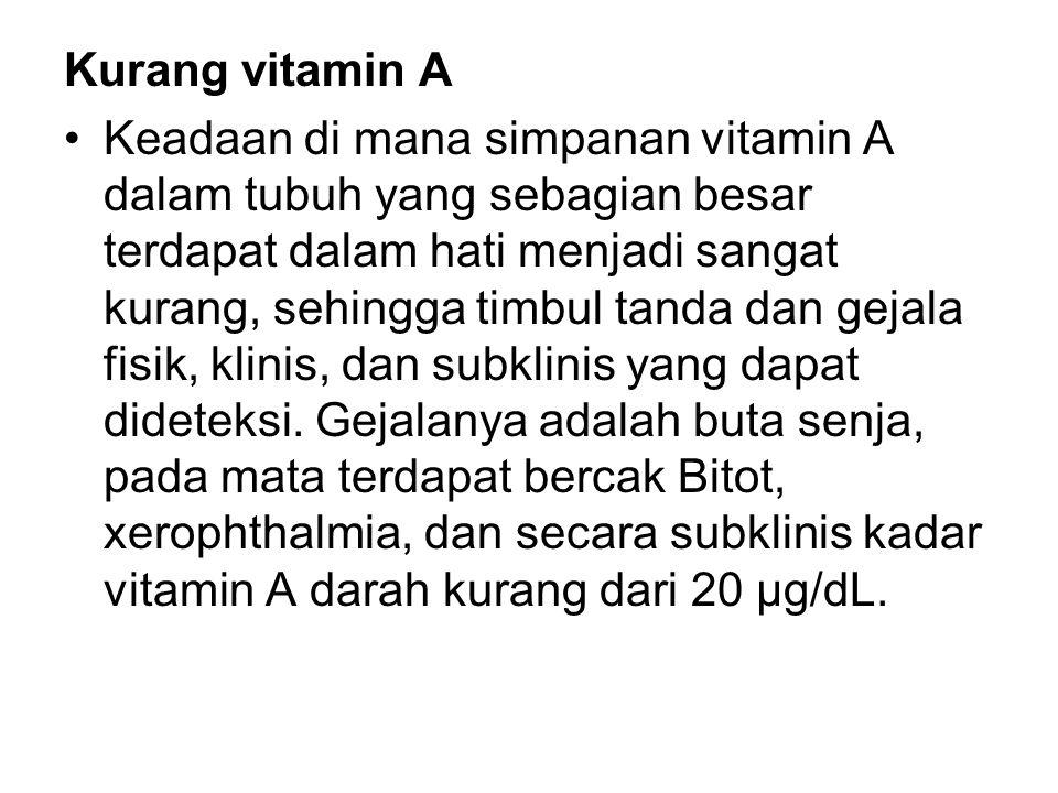 Kurang vitamin A
