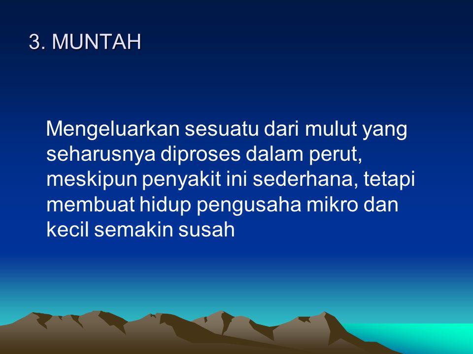3. MUNTAH