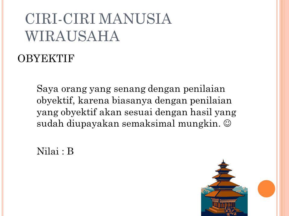 CIRI-CIRI MANUSIA WIRAUSAHA