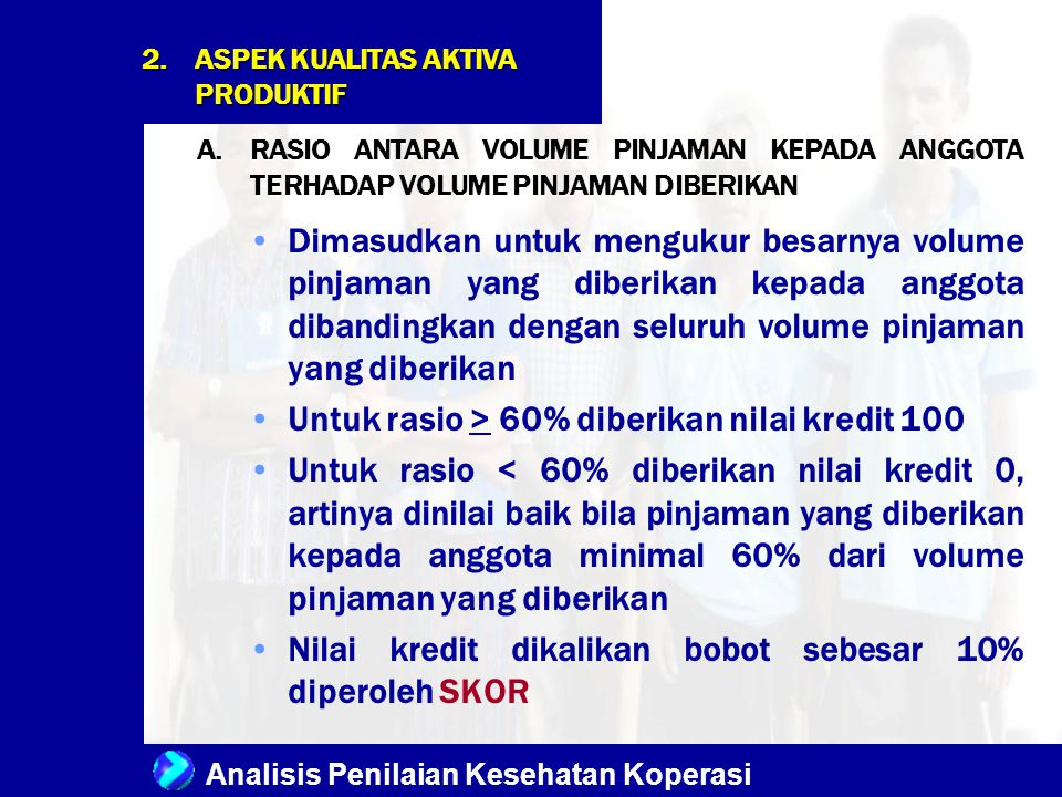 ASPEK KUALITAS AKTIVA PRODUKTIF