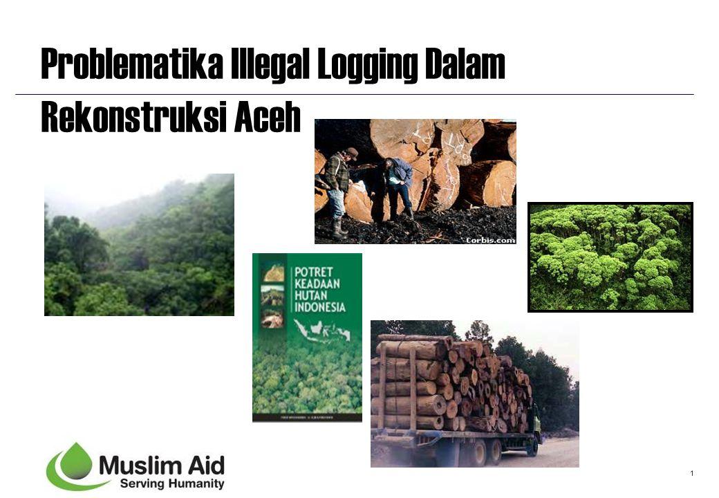 Problematika Illegal Logging Dalam Rekonstruksi Aceh