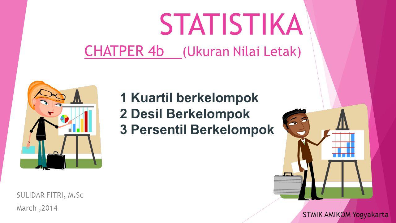STATISTIKA CHATPER 4b (Ukuran Nilai Letak)