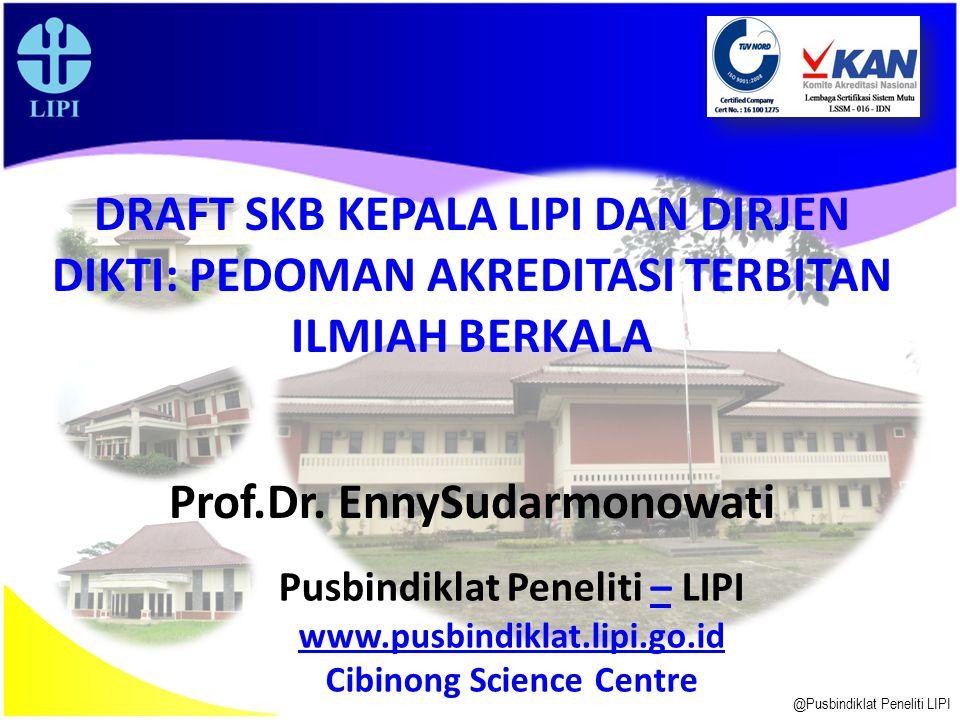 Prof.Dr. EnnySudarmonowati
