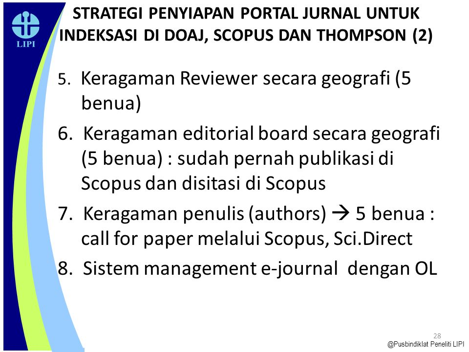 8. Sistem management e-journal dengan OL