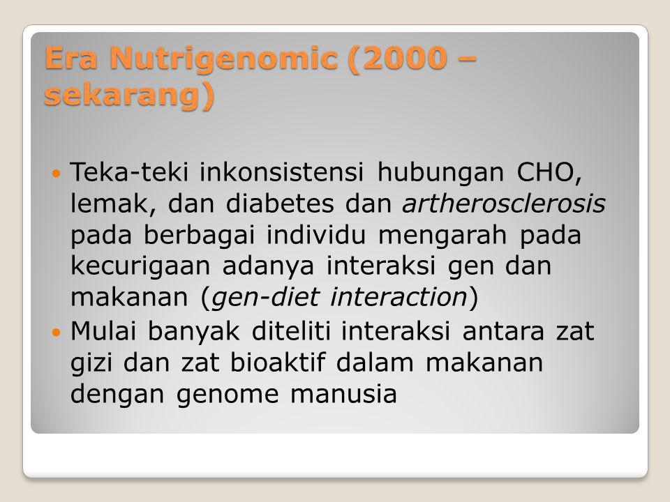 Era Nutrigenomic (2000 – sekarang)