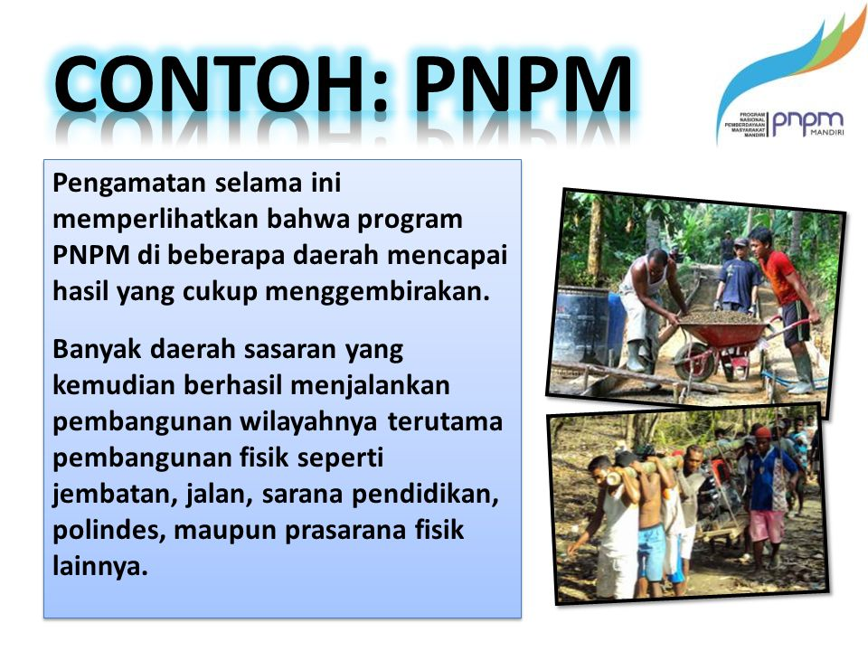 CONTOH: PNPM