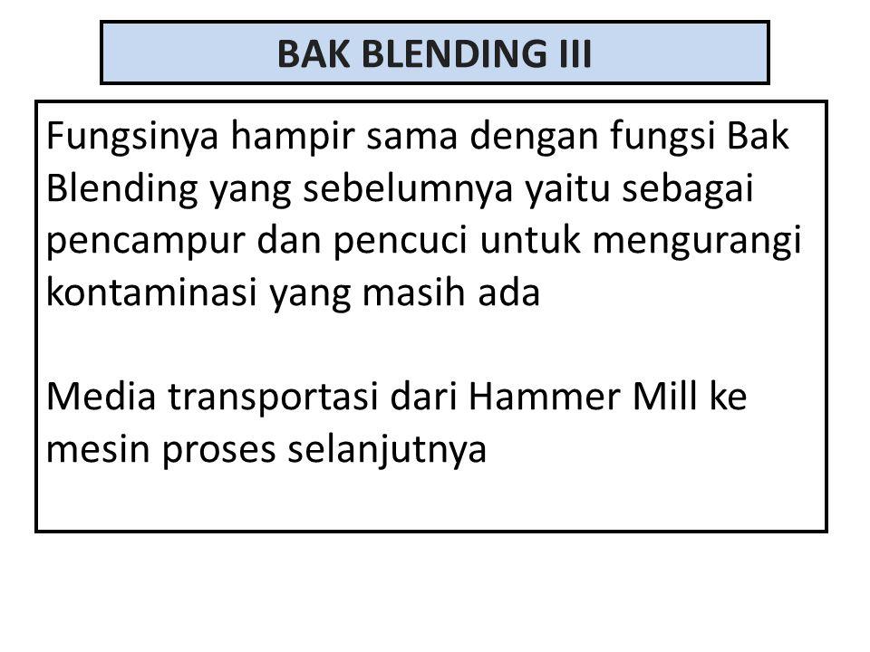 BAK BLENDING III