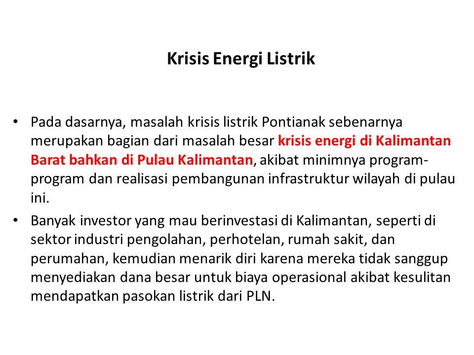 Krisis Energi Listrik
