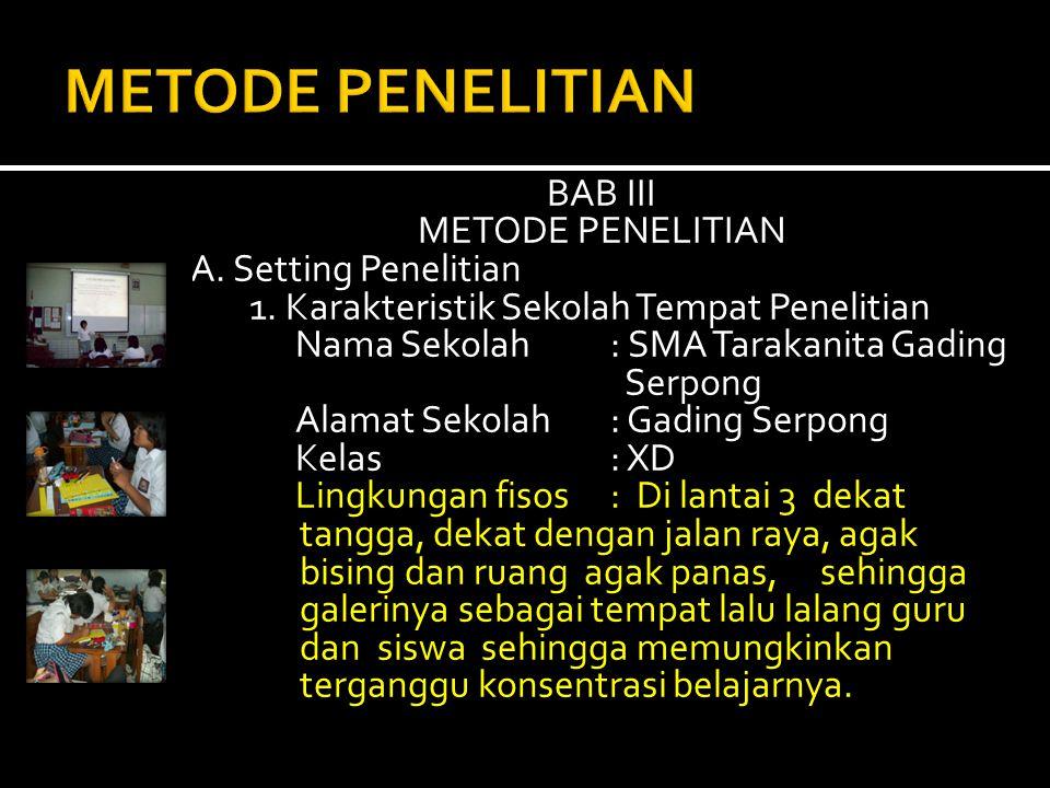 METODE PENELITIAN