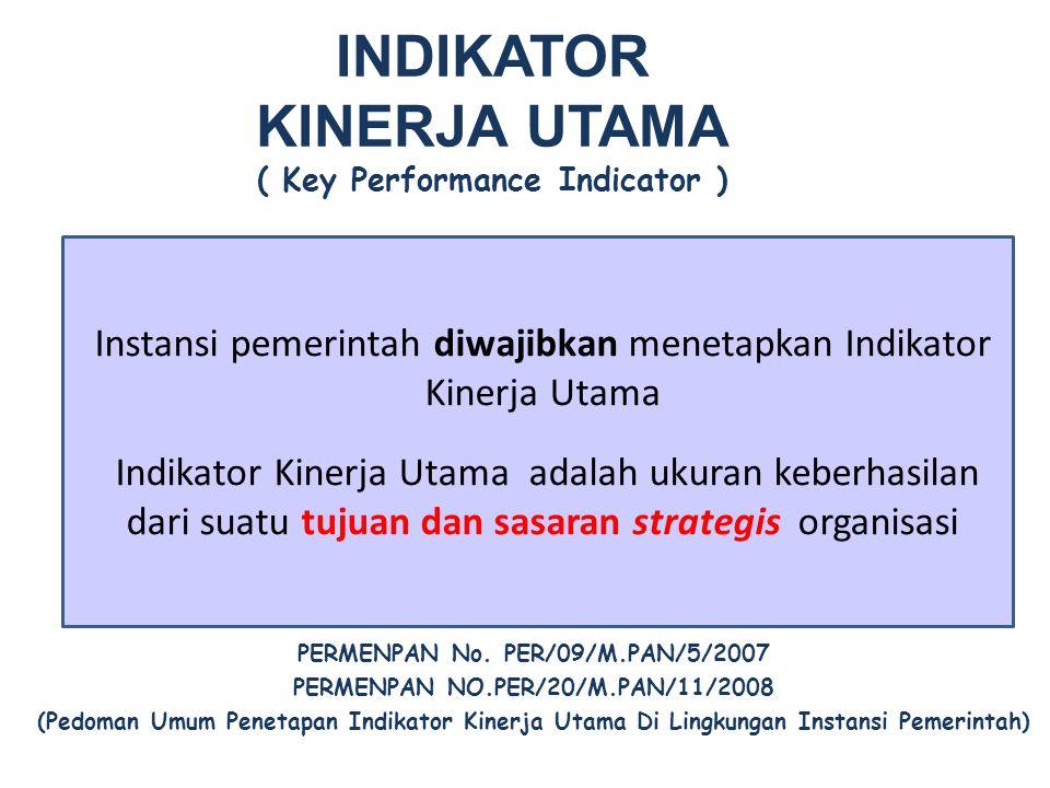 INDIKATOR KINERJA UTAMA ( Key Performance Indicator )
