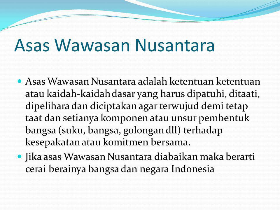 Asas Wawasan Nusantara
