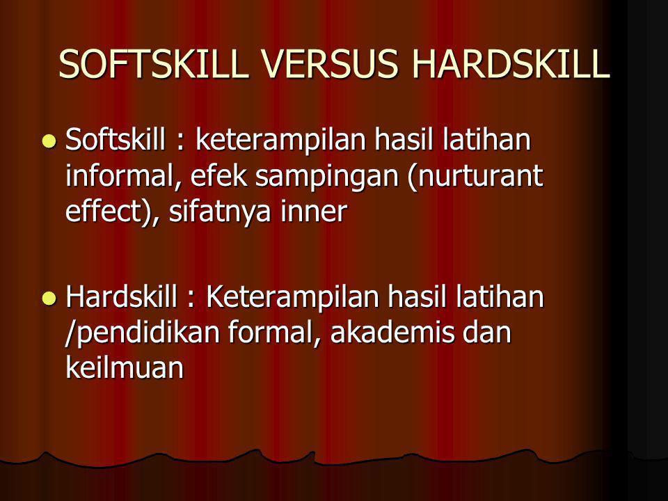 SOFTSKILL VERSUS HARDSKILL