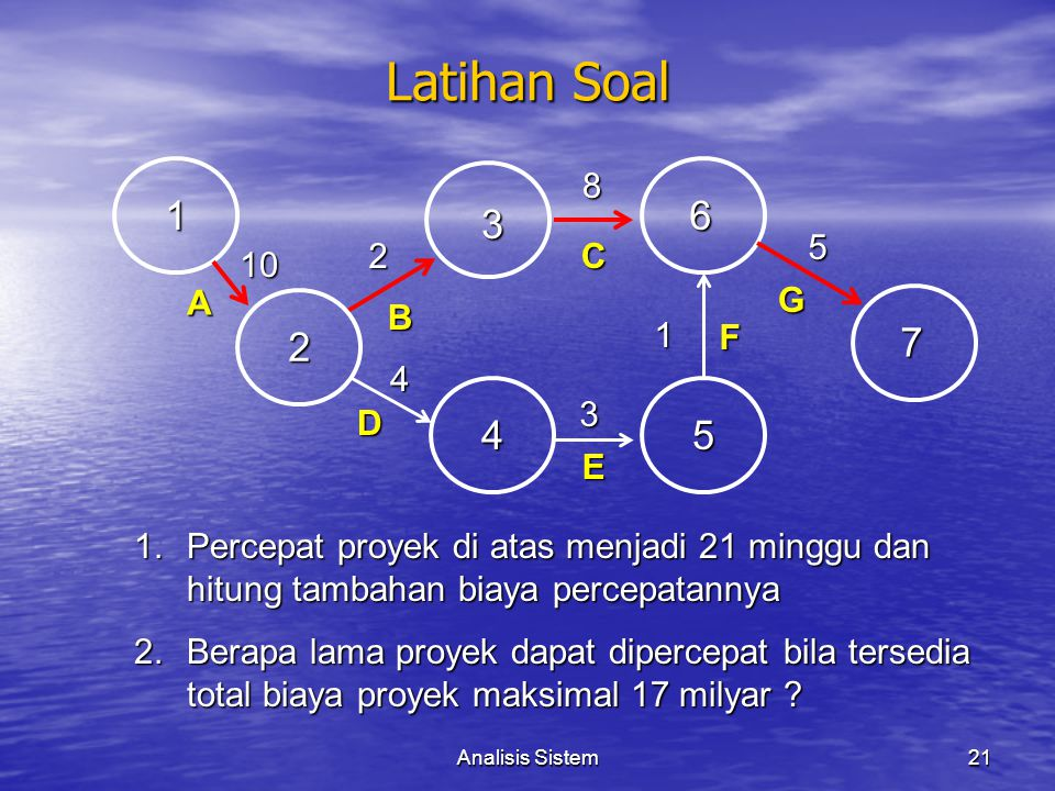 Latihan Soal 8. 1. 6. 3. 5. 2. C. 10. A. G. B. 1. 2. F. 7. 4. 3. D. 4. 5. E.