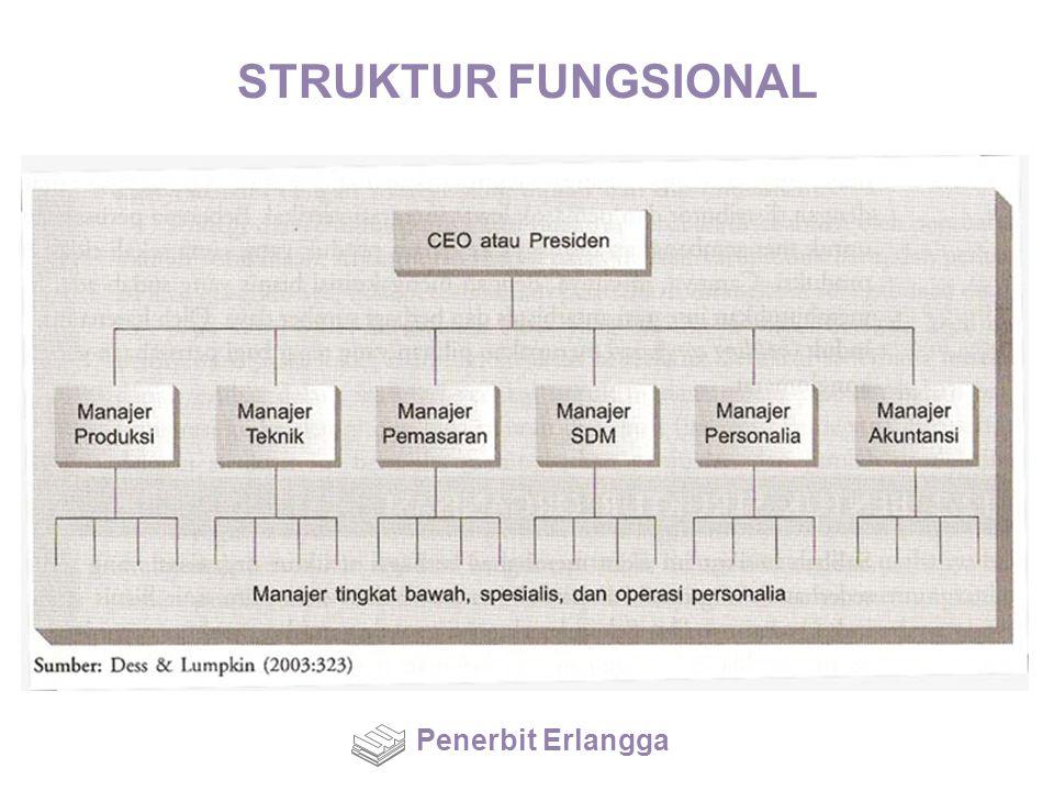 STRUKTUR FUNGSIONAL Penerbit Erlangga