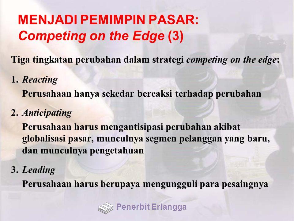 MENJADI PEMIMPIN PASAR: Competing on the Edge (3)