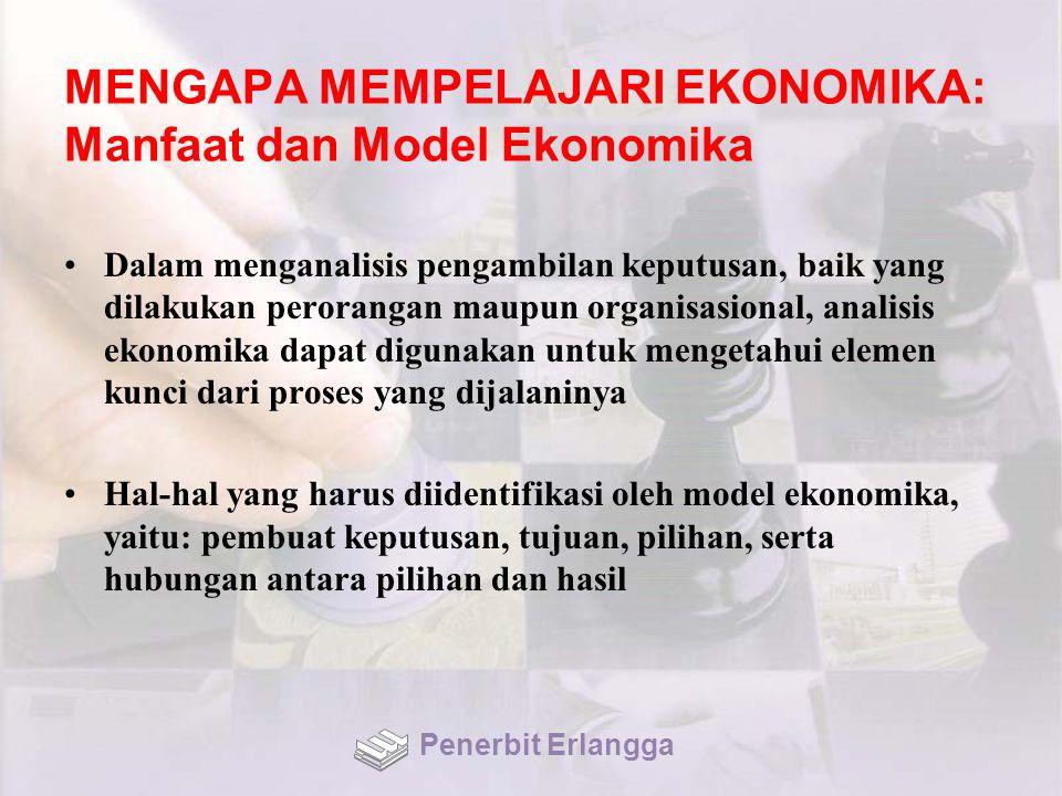MENGAPA MEMPELAJARI EKONOMIKA: Manfaat dan Model Ekonomika