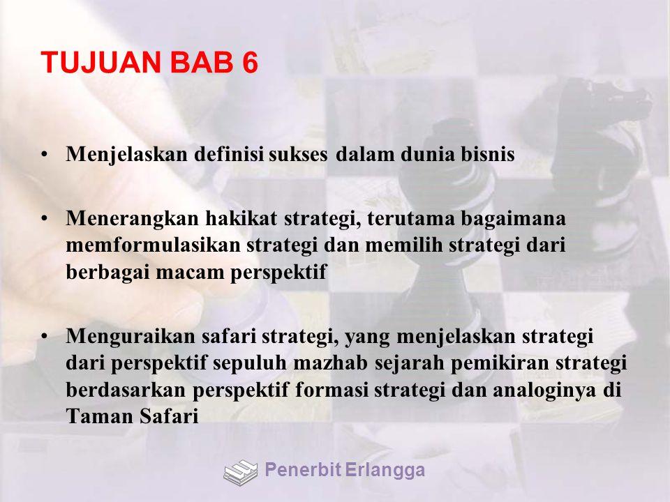 TUJUAN BAB 6 Menjelaskan definisi sukses dalam dunia bisnis