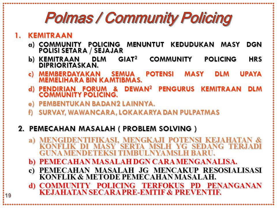 Polmas / Community Policing
