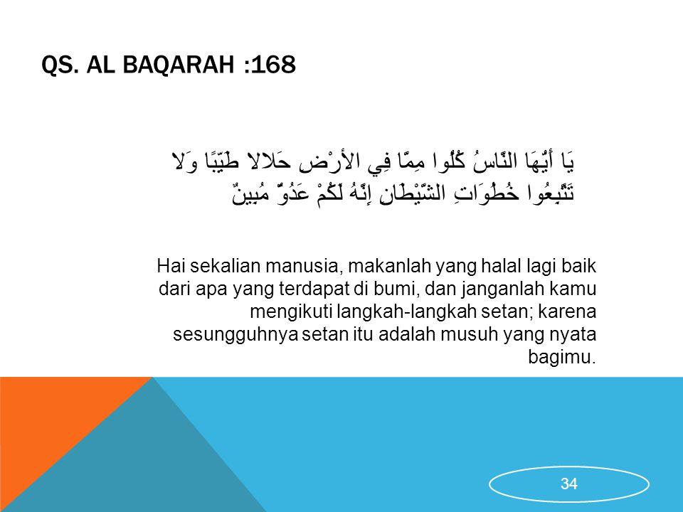 QS. Al Baqarah :168