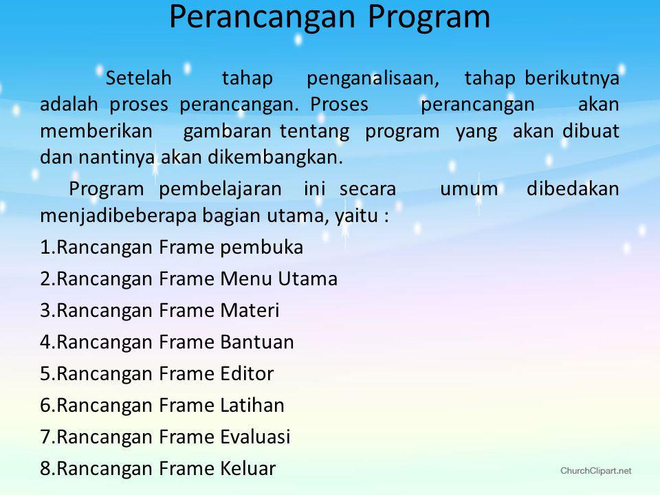 Perancangan Program