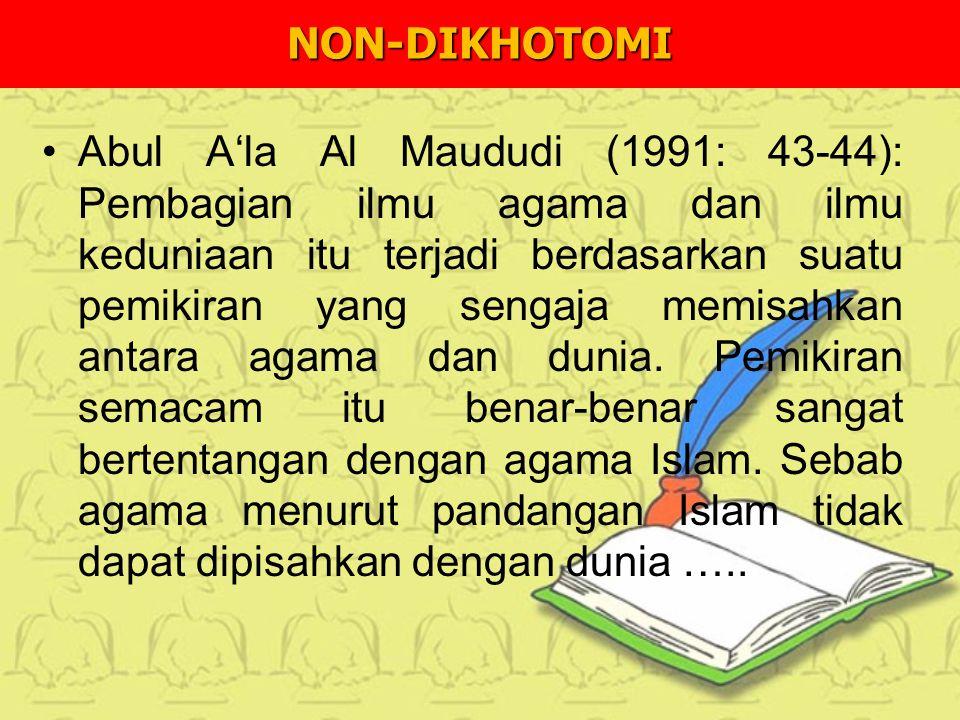 NON-DIKHOTOMI